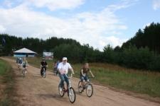 На велодорожке форума