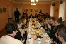 Чаепитие у Михаила Евграфовича