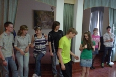 неформальная обстановка сплотила ребят (поездка в Торжок)