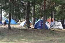 Палаточный лагерь Содружества.
