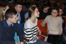 Обучающая игра среди участников Олимпиады