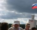 Встреча Владимира Чурова и делегации ЦИК РФ на Селигере.