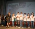 Награждение команды Брянской области.