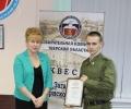 Награждение Победителя Квеста. Команда ВА ВКО им. маршала К.Г. Жукова